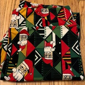 Lularoe Santa leggings TC2
